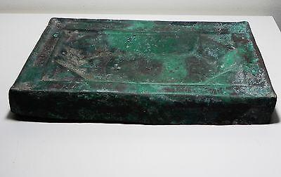 Zurqieh - Beautiful Islamic Bronze Tray, Khorasan , 10Th - 11Th Cent. A.d