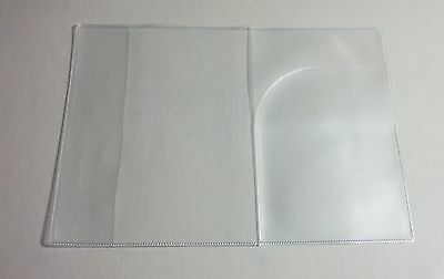 Canadian Canada Clear Plastic Vinyl Passport Cover Protector Holder 7