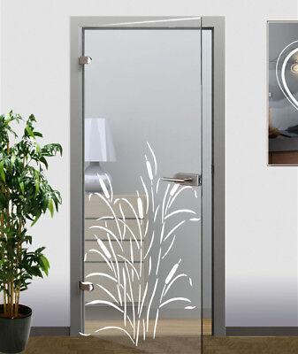 Glastürfolie Glasdekor Dekorfolie  Modern Folie für Glastür oder Zimmertür