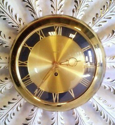 Vintage Toleware Starburst Sunburst Atomic Sputnik Clock Danish Modern Eames Mid 2