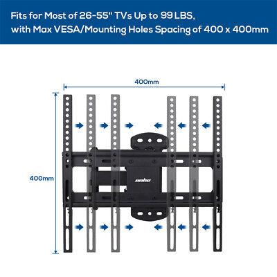 "32-55"" Solid Arm Slim TV Wall Mount Bracket fr Samsung Sony LG Panasonic Philips 11"