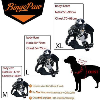 Tactical Dog Excursion K9 Training Patrol Vest Harness, Extra Large-Medium Size 11