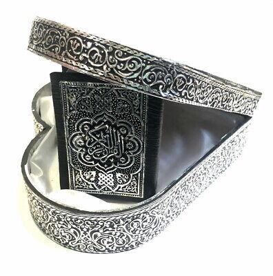 Quran Truhe in Herz Format + Koran Arabisch *Islam Allah hijab Abaya Takschita* 5