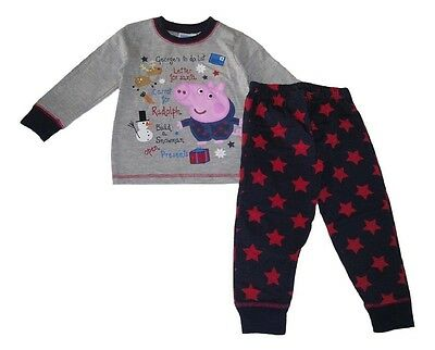 Boys/Girls Pyjamas Official Peppa pig or George Pig 3