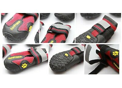 POMPREECE - Pet Dog Cat Puppy Cat Shoes Boots Waterproof Anti-Slip Paw Protector 11