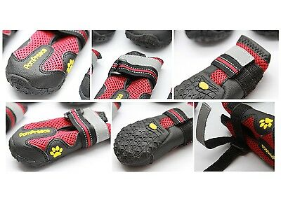 POMPREECE - Pet Dog Cat Puppy Cat Shoes Boots Waterproof Anti-Slip Paw Protector 5