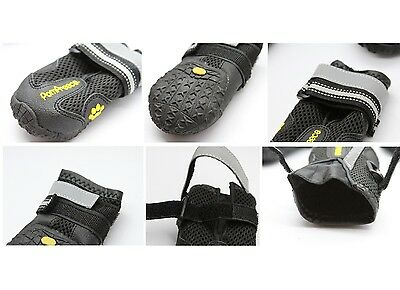 POMPREECE - Pet Dog Cat Puppy Cat Shoes Boots Waterproof Anti-Slip Paw Protector 6