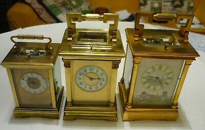 Antique  Couaillet  French Repeater Carriage Clock Around 1870/1900 3