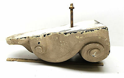 Antique Corbel Bracket Lead Classical Gothic Architectural Salvage Accent Piece
