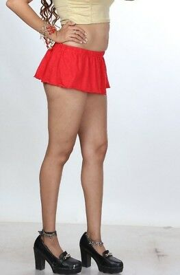 4f5fb178a0722e ... Just Short Skirt 8 inch Red Divas Micro Mini Skirt Stretchy Women Mini  Skirt 002 10