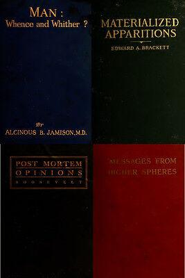 300 Rare Books On Spirits, Medium, Séances, Communication With The Dead On Dvd 5