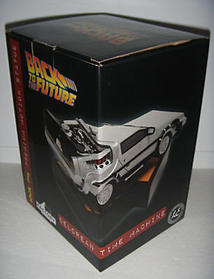 Back To The Future Delorean Premium Motion Statue Limited Edition #0711 of 2500 3