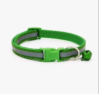 Reflective Dog Cat Kitten Collar Pet Puppy Adjustable Harness with Bell 5
