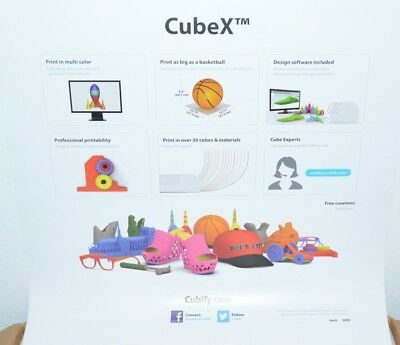 3D SYSTEMS CUBEX Duo Personal 3D Printer 401384 FACTORY SEALED