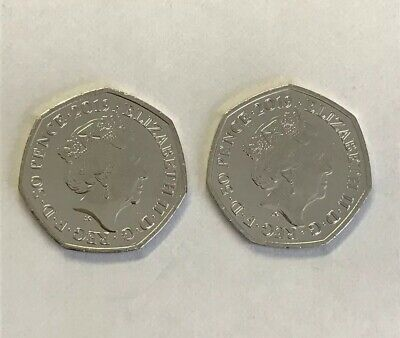 Uncirculated Set of 2 Paddington 2019 50p's: St. Paul's Cathedral & London Tower 5