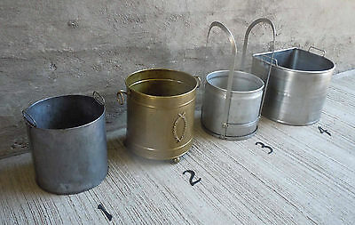 Vintage Stainless Steel Frame and Aluminum Bucket/Pale (#3) 12