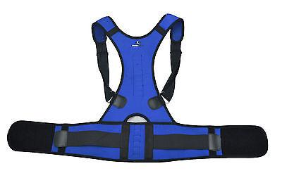 Magnetic Posture Corrector Lumbar Shoulder Support Belt Brace