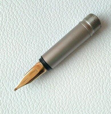 Montblanc Fountain Pen No.1128 Nib Size B Gold 585 Part Pen NOS #8 3