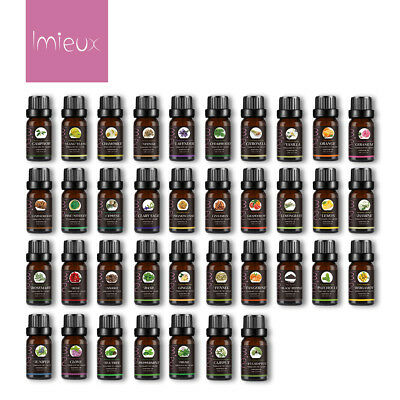 10ml Aromatherapy Essential Oils 100% Natural Pure Essential Oil 37+ Fragrances 2