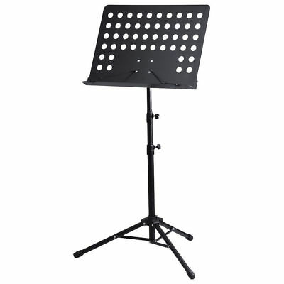 Heavy Duty Orchestral Conductor Sheet Music Stand Holder Tripod Base + Carry Bag 4