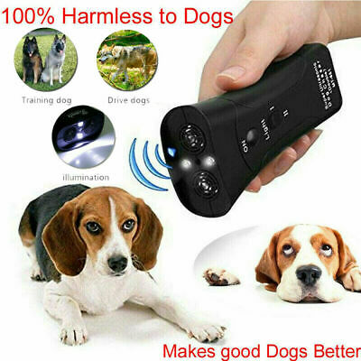 Petgentle Ultrasonic Anti Dog Barking Pet Trainer LED Light Gentle Chaser Style 2