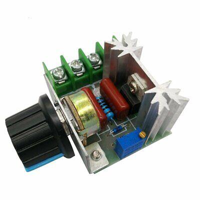 A22. Regolatore di velocità motore tensione regolabile PWM 2000w 50v-220v dimmer 3