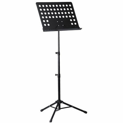 Heavy Duty Orchestral Conductor Sheet Music Stand Holder Tripod Base + Carry Bag 7