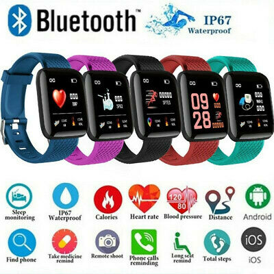 Smart Watch Band Sport Activity Fitness Tracker For Kids Fit bit Android iOS UK 5