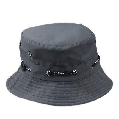 afbc6abc05c ... Bucket Hat Boonie Flat Hunting Fishing Outdoor Summer Cap Unisex 100%  Cotton New 10