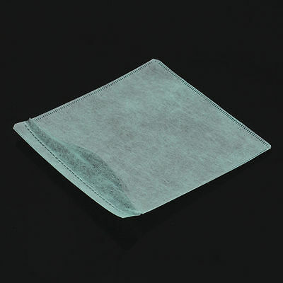 Hot Sale 100Pcs CD DVD Double Sided Cover Storage Case PP Bag Holder8YO