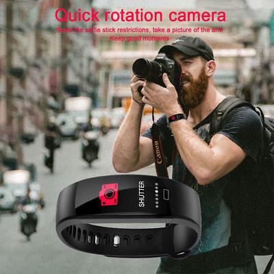 Fitness Armband mit Pulsmesser Wasserdicht IP68 Fitness Tracker Smartwatch Uhr 10
