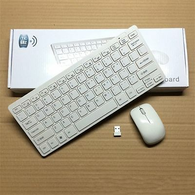 New Mini 03 2.4G DPI Wireless Keyboard and Optical Mouse Combo for Desktop LOT E