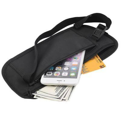 Security Money Belt Waist Discreet Travel Accessory Safe Handy Bum Bag Discreet