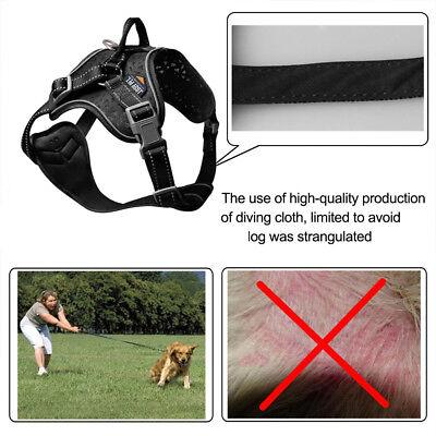Reflective Huge Dog Anti Pull Dog Harness Padded Large Medium X Large Heavy Duty 5