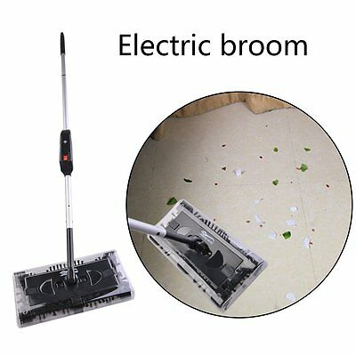 électrique 2 en 1 sans sac sans fil 360° rechargeable Sweeper balai Mop 7.2V FR 3