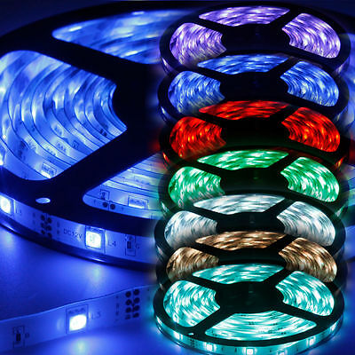 LED Stripe RGB Leiste Streifen 5050SMD Band Lichter Licht Leuchte n Lichterkette