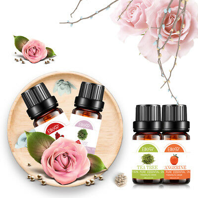 Aromatherapy Essential Oils 100% Natural Pure Essential Oil 38+ Fragrances 10ml