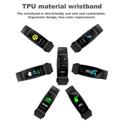 Fitness Armband mit Pulsmesser Wasserdicht IP68 Fitness Tracker Smartwatch Uhr 3