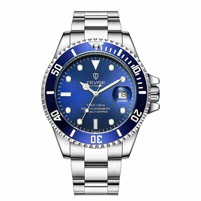 TEVISE T801 Watch Orologio meccanico da uomo Cintura in acciaio impermeabile 2