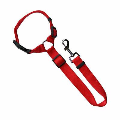 Adjustable Pet Dog Travel Seat Belt Clip Lead For Car Safety Restraint Harness U 9