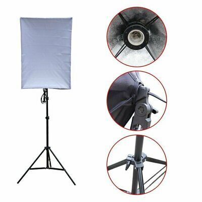 50W LED Continuous Lighting Softbox Photography Studio Soft Box Light Stand Kit 6