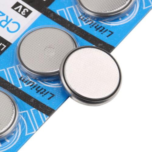 10 x Li-ion 3V CR2032 DL2032 ECR2032 5004LC 3 Volt Button Cell Battery