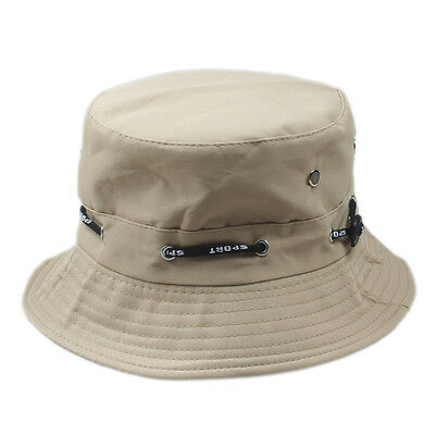 851b49900cc ... Bucket Hat Boonie Flat Hunting Fishing Outdoor Summer Cap Unisex 100%  Cotton New 11