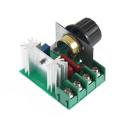 2000w Ac 50-220V 25A Regulador de Voltaje controlador de velocidad de mofws  KY 4