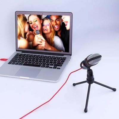Microfono A Condensatore Per Registrazione Vocale Conferenze Chat Notebook Pc 2