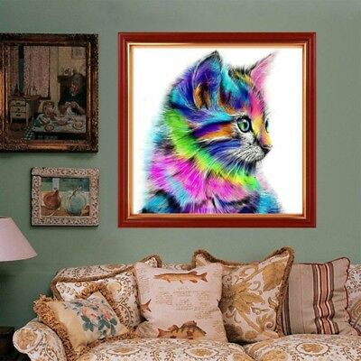Animal DIY 5D Diamond Painting Embroidery Cross Craft Stitch Art Kit Home Decor 4