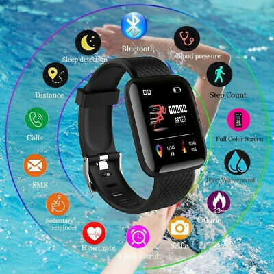 Smart Watch Band Sport Activity Fitness Tracker For Kids Fit bit Android iOS UK 7