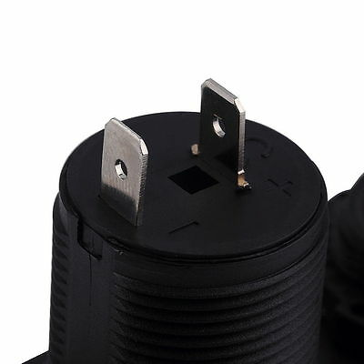 Dual USB Car Cigarette Lighter Socket Splitter 12V Charger Power Adapter Outlet 8