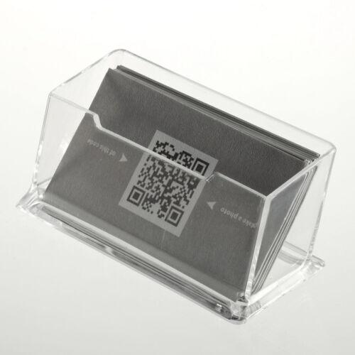 Distributeur Daffichage De Support Porte Cartes Visite TransparentRD 2 Sur 6