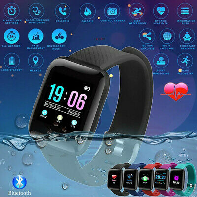 Smart Watch Band Sport Activity Fitness Tracker For Kids Fit bit Android iOS UK 8